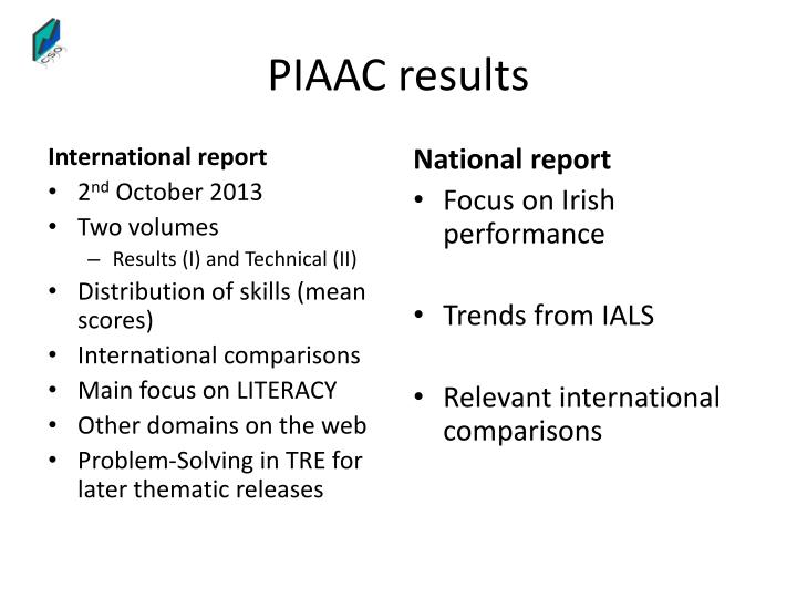 PIAAC results
