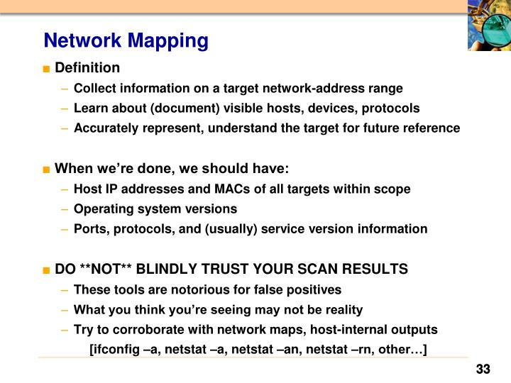 Network Mapping