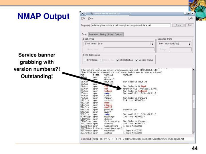 NMAP Output