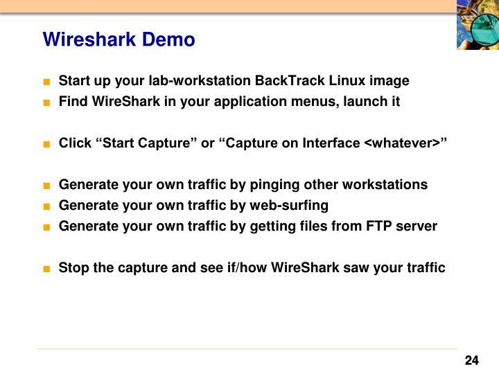 Wireshark Demo