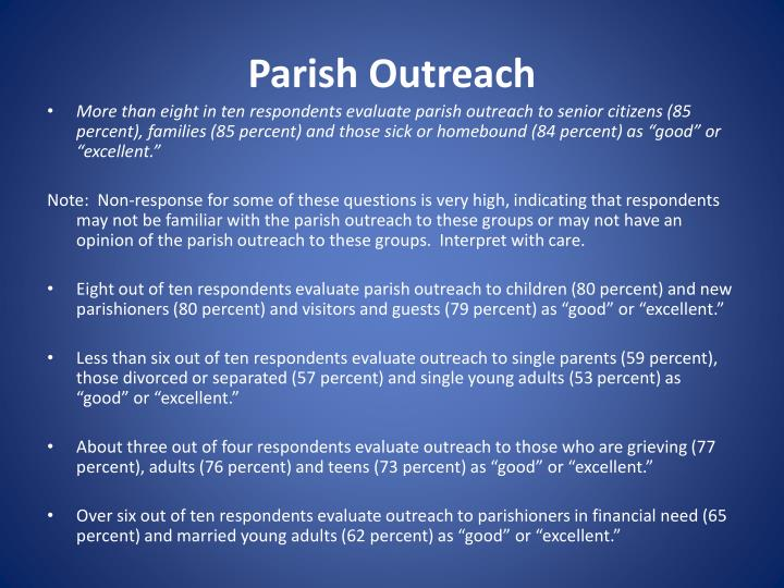 Parish Outreach
