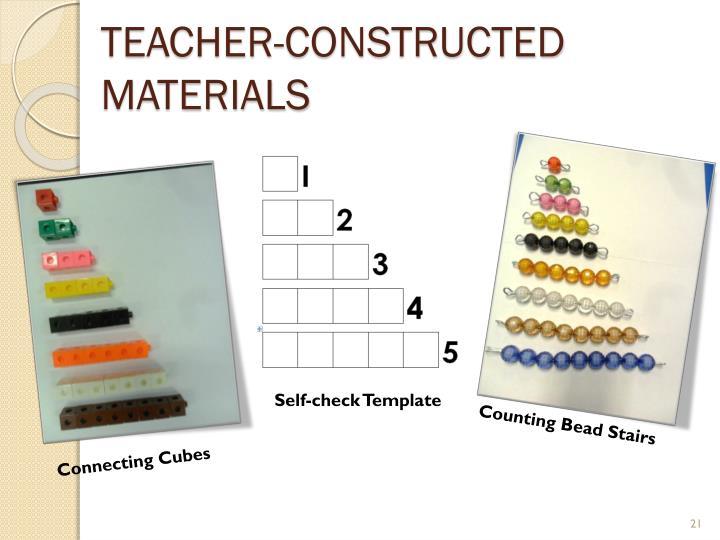 Teacher-constructed Materials