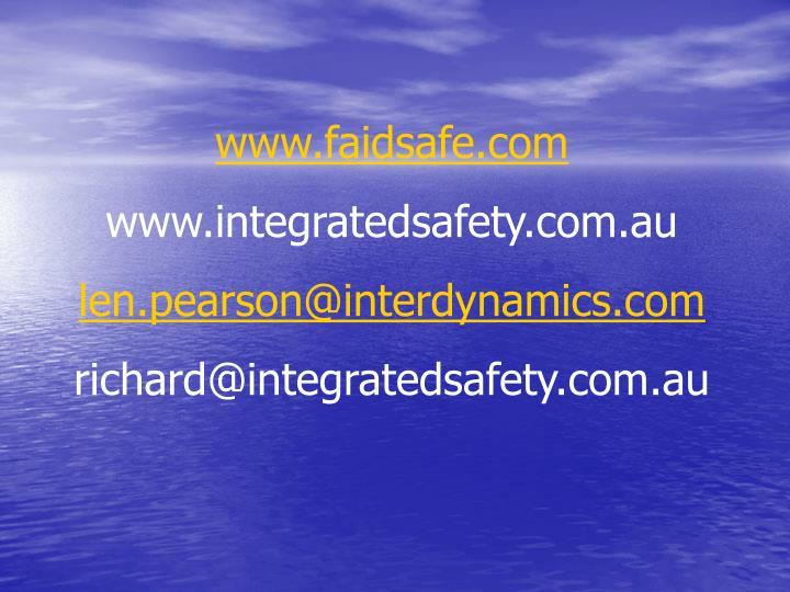 www.faidsafe.com