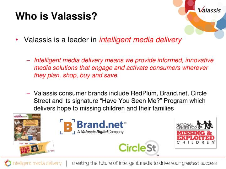 Who is Valassis?