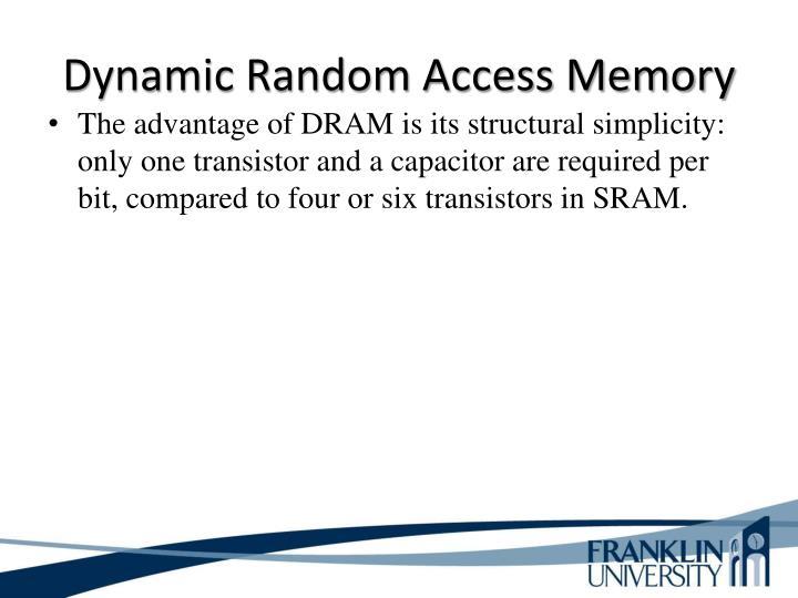 Dynamic Random Access Memory