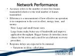 network performance12