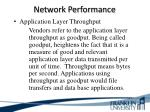 network performance6