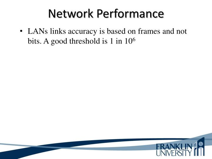 Network Performance