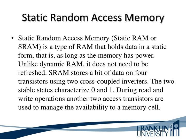 Static Random Access Memory