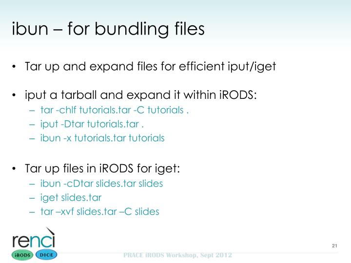 ibun – for bundling files