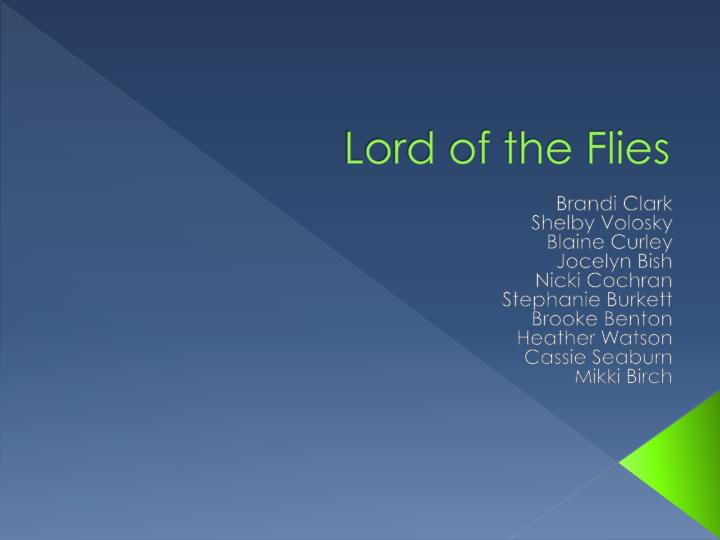 literary analysis essay of lord of the flies