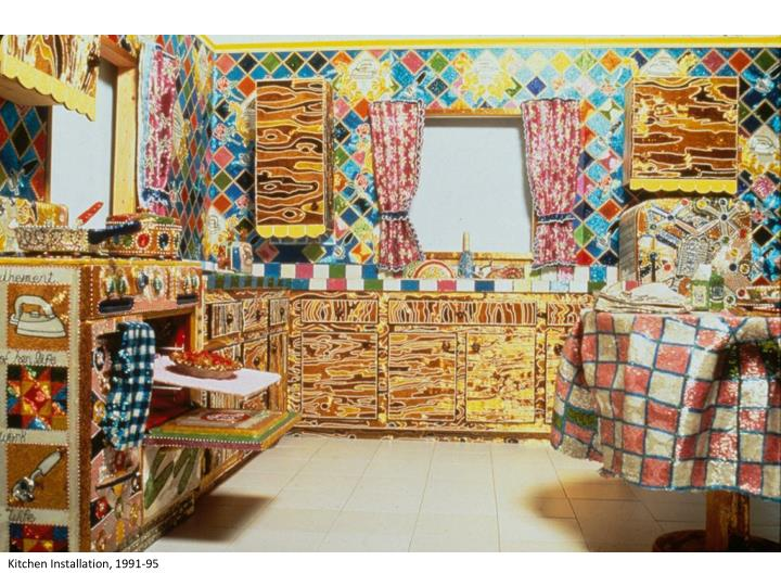 Kitchen Installation, 1991-95