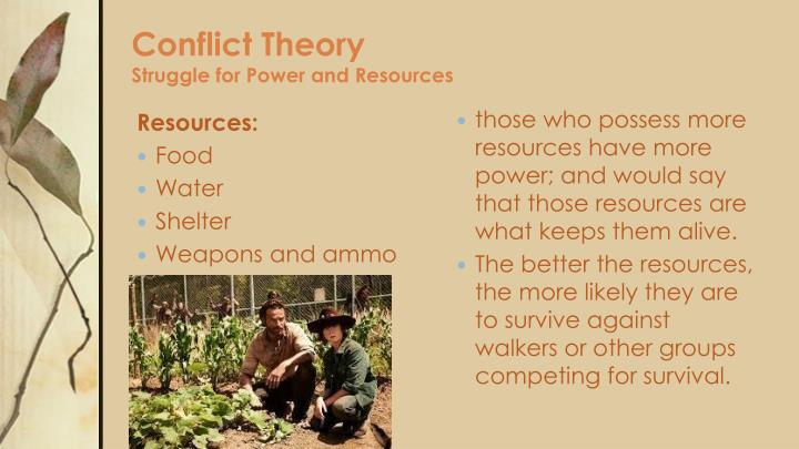 example of conflict perspective in a real life When asked what a life without conflict might look ideas and practiced on examples of conflict from their or a different perspective to be.