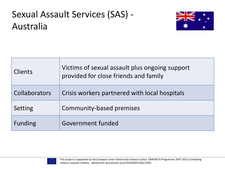 Sexual Assault Services (SAS) - Australia