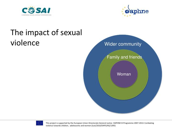The impact of sexual