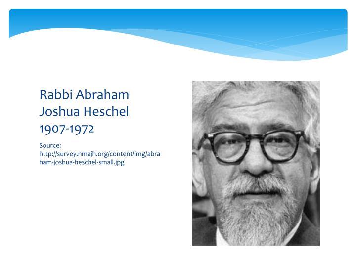 Rabbi Abraham Joshua