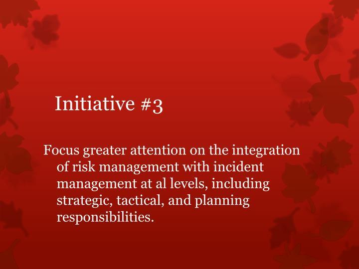Initiative #3