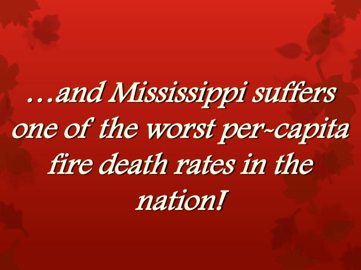 …and Mississippi