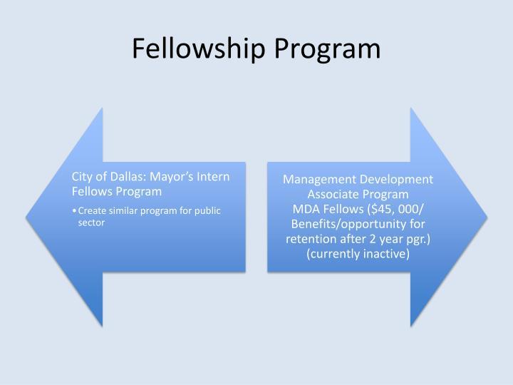 Fellowship Program