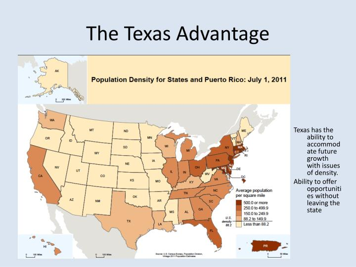 The Texas Advantage