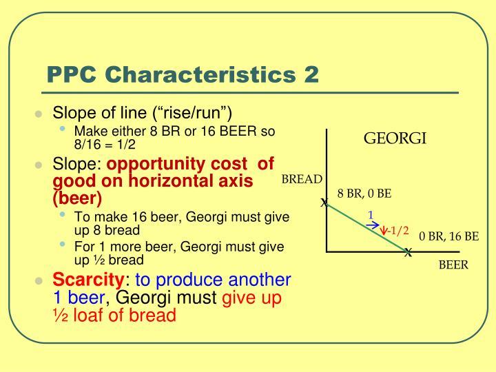 PPC Characteristics 2