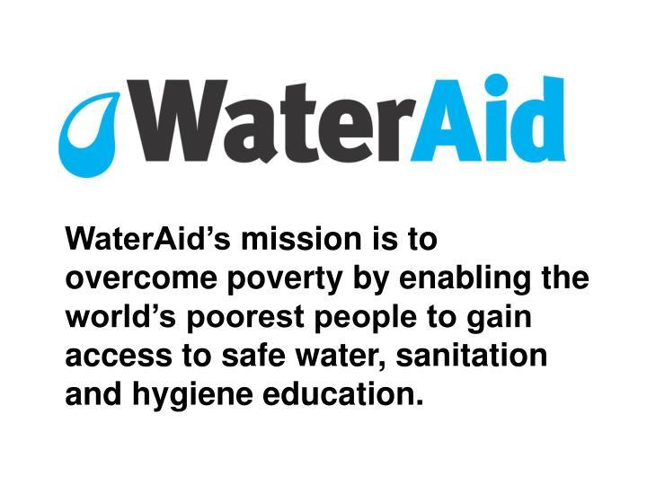 WaterAid's