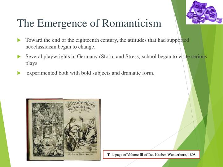 The emergence of romanticism