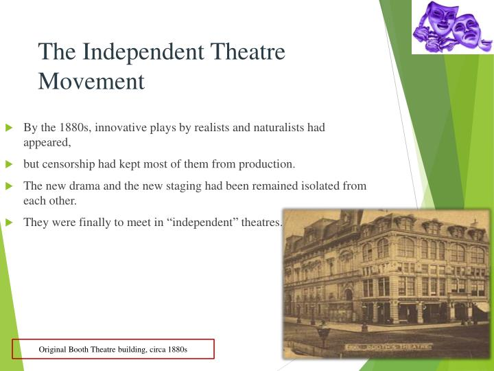 The Independent Theatre Movement