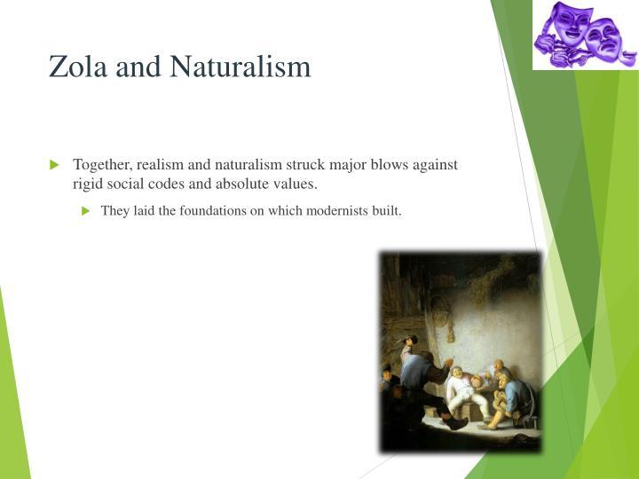 Zola and Naturalism