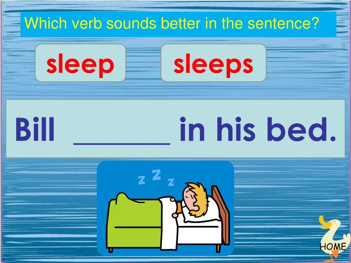 Which verb