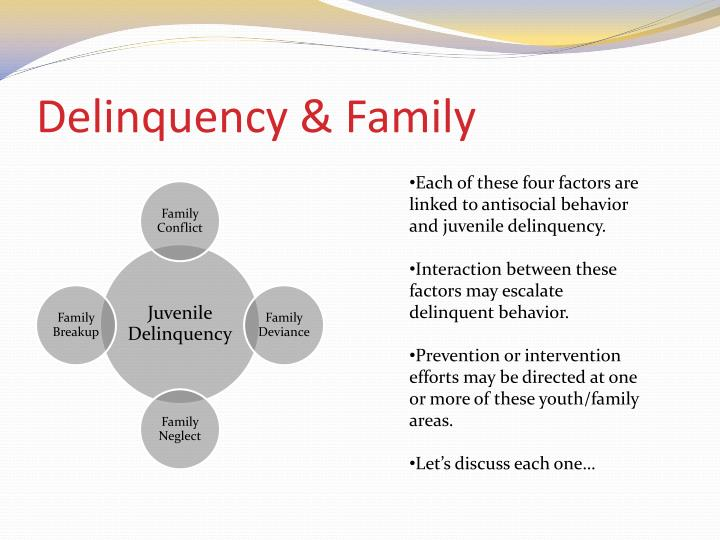 Delinquency & Family