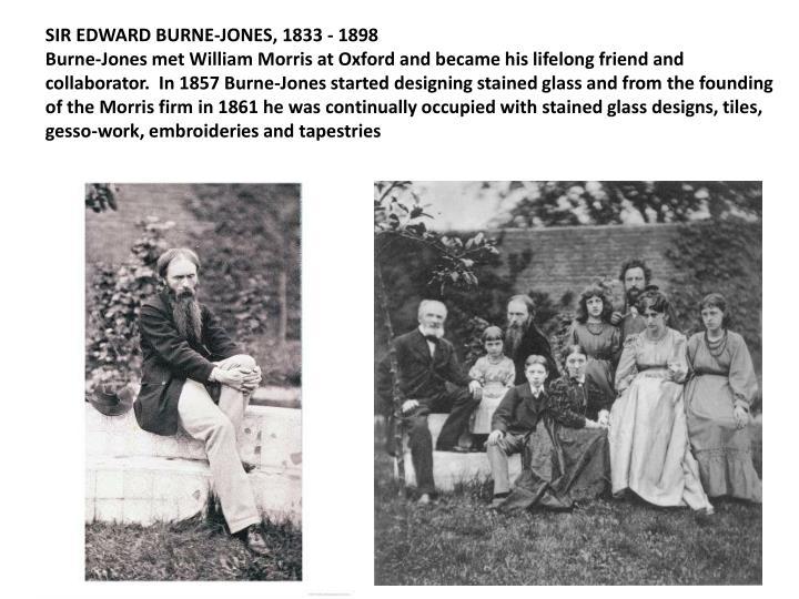 SIR EDWARD BURNE-JONES, 1833 - 1898