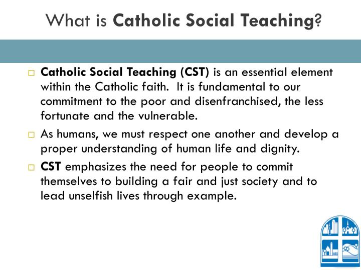 What is catholic social teaching