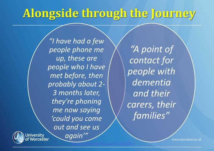 Alongside through the Journey