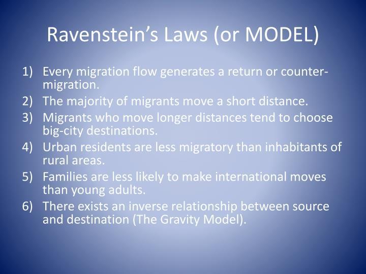 Ravenstein's