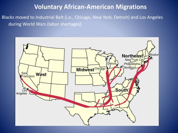 Voluntary African-American Migrations