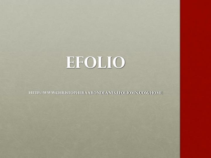 EFOLIO