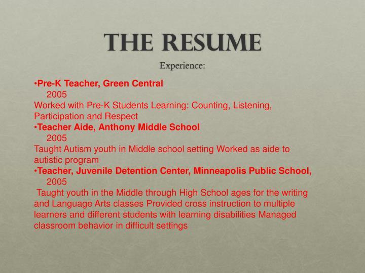 Pre-K Teacher, Green Central