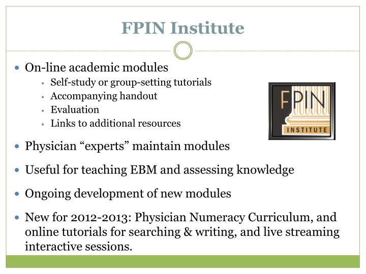 FPIN Institute