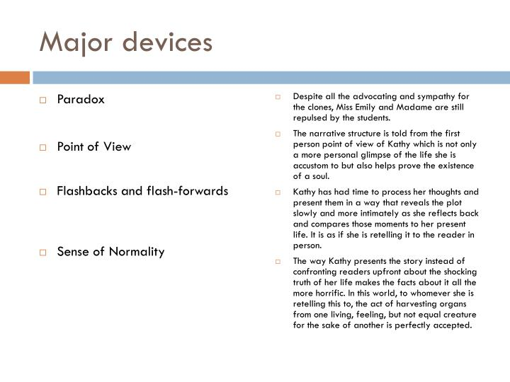 Major devices