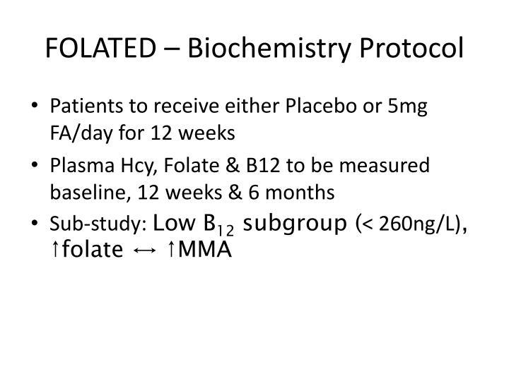 FOLATED – Biochemistry Protocol