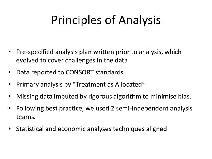 Principles of Analysis