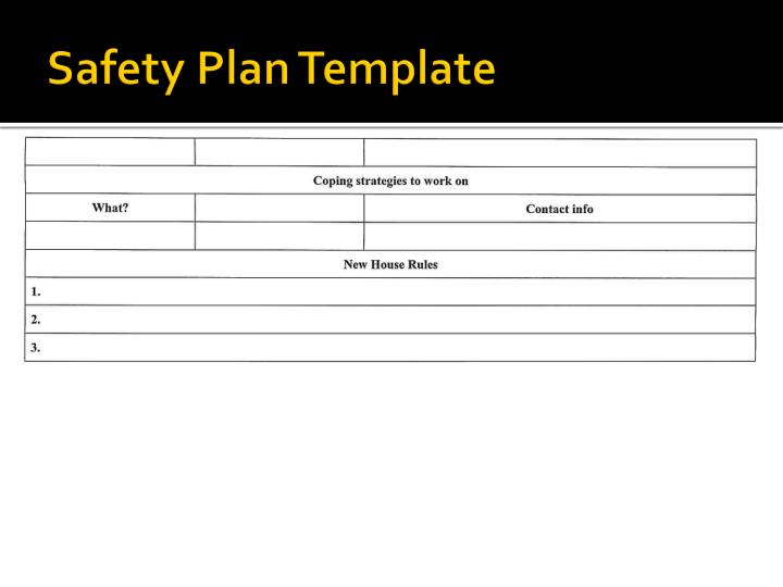 suicide safety plan template - safety plan pictures to pin on pinterest pinsdaddy