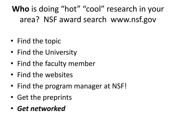 nsf graduate fellowship essay format Best ways to strengthen your fellowship application (nsf 2011) most common tips and advice from faculty, selection committee members and successful fellowship applicants preparing for the application essay format answering every.