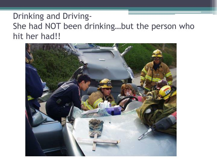 Drinking and Driving-