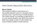 heart attack myocardial infarction