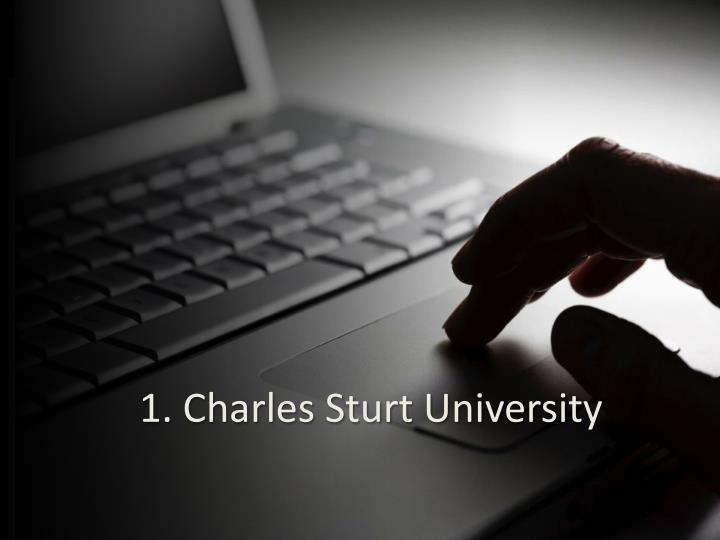 1. Charles Sturt University