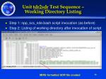 unit tdr2sdr test sequence working directory listing