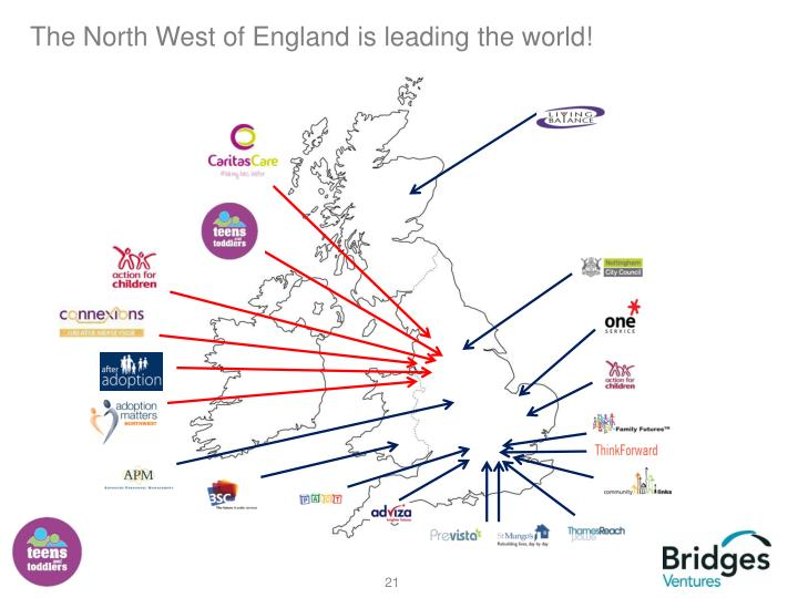 The North West of England is leading the world!