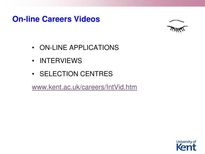 On-line Careers Videos